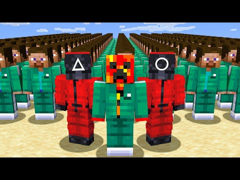 Playing SQUID GAME in Minecraft! MQ quality image