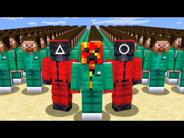Playing SQUID GAME in Minecraft! HQ quality image