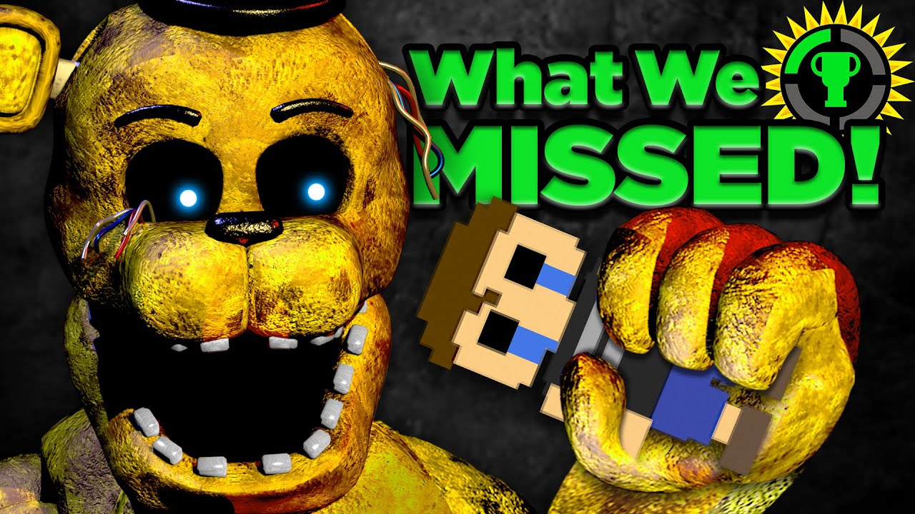 Game Theory: Did Reddit Just SOLVE FNAF? HD quality image
