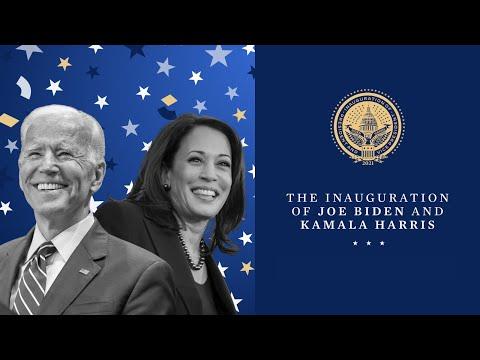 The Inauguration of Joe Biden and Kamala Harris Jan. 20th, 2021 MQ quality image