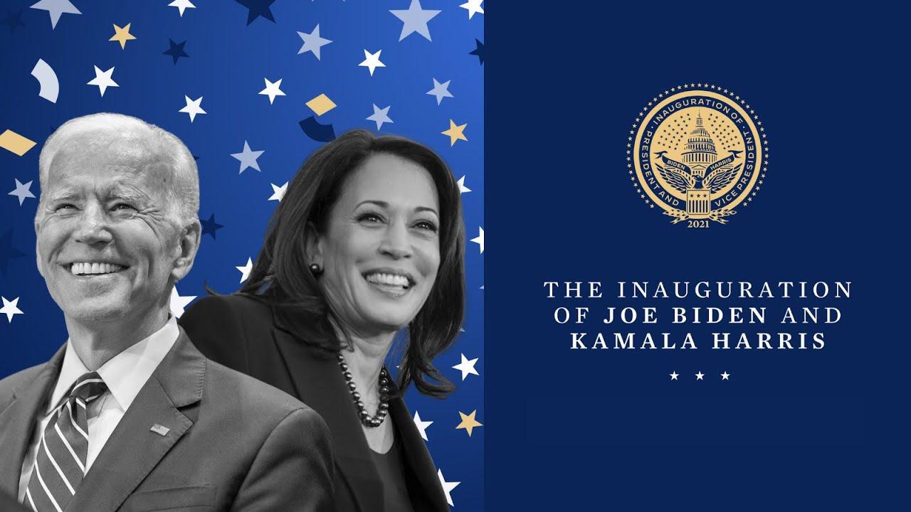 The Inauguration of Joe Biden and Kamala Harris Jan. 20th, 2021 HD quality image