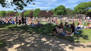 Mass gathering in Toronto park sparks outrage Screenshot
