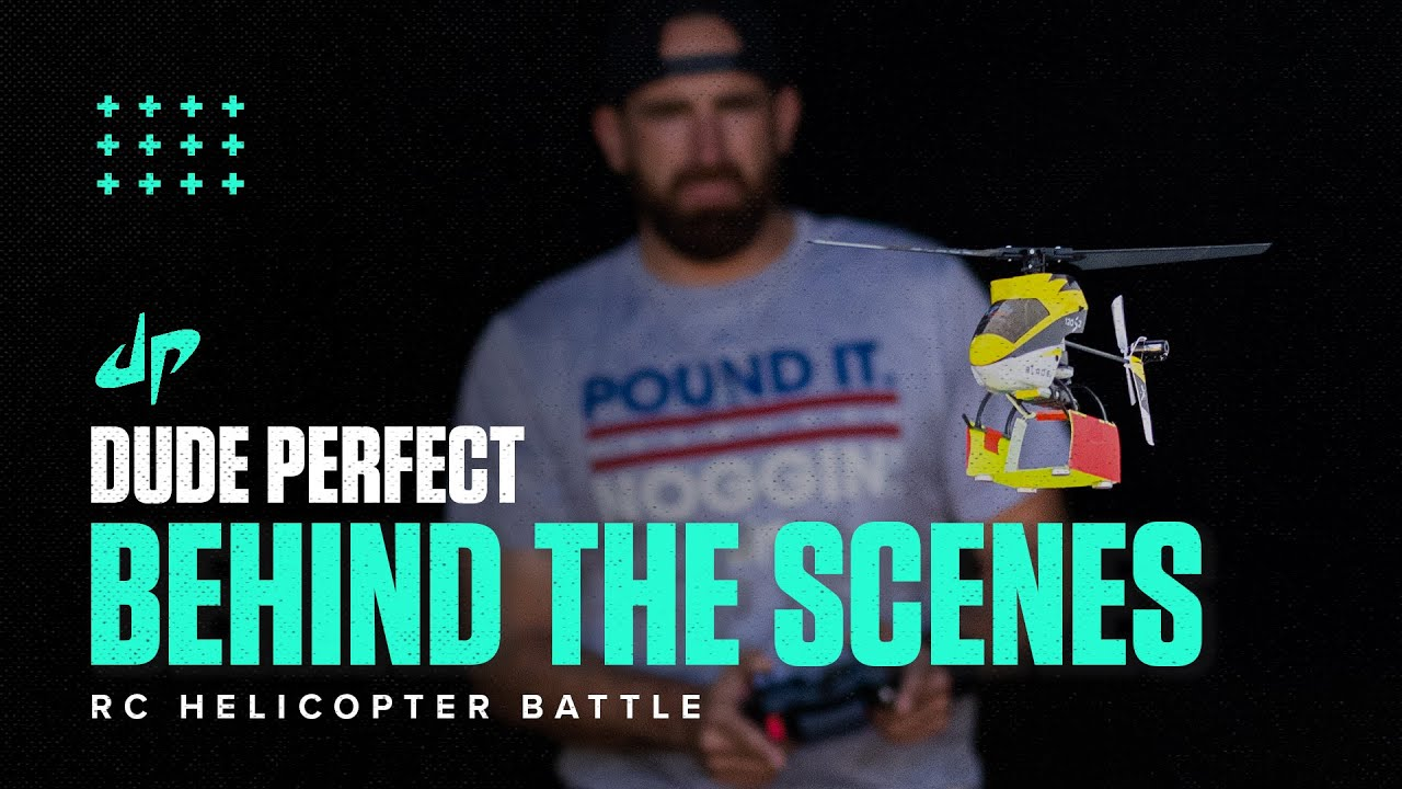 RC Helicopter Battle (Behind The Scenes) HD quality image