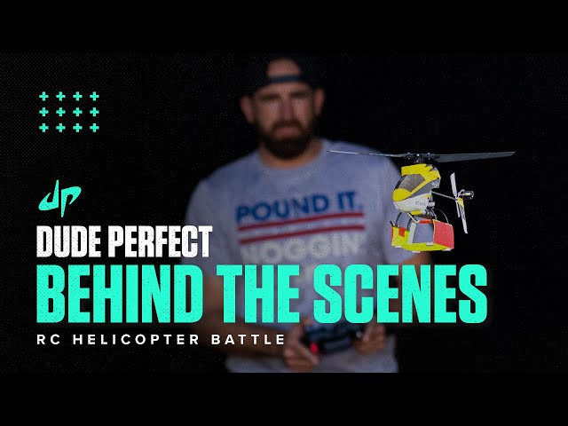 RC Helicopter Battle (Behind The Scenes) HQ quality image