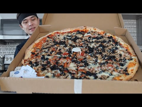 DESTROYING my 1st YouTube Food Challenge (New Record??) MQ quality image