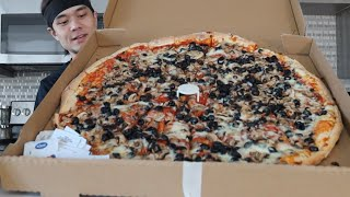DESTROYING my 1st YouTube Food Challenge (New Record??) MD quality image