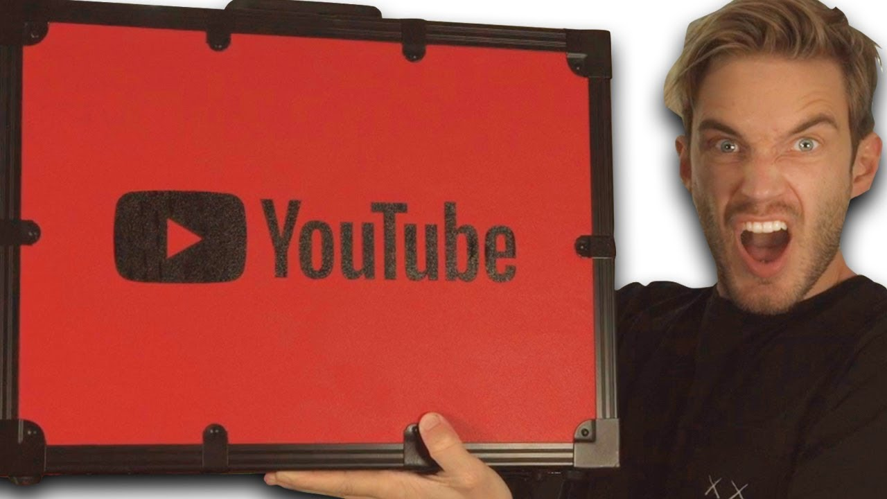 Unboxing 100 MIL YouTube AWARD!! HD quality image