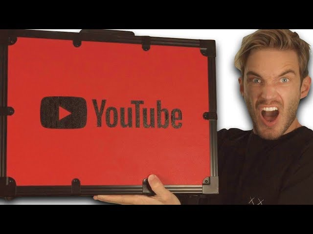 Unboxing 100 MIL YouTube AWARD!! HQ quality image