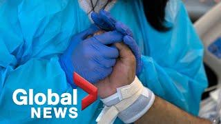 Ontario nurse dies after contracting COVID-19 Screenshot