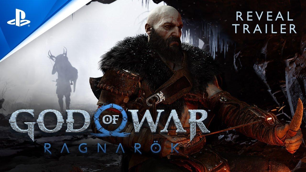 God Of War Ragnarok - PlayStation Showcase 2021 Reveal Trailer PS5 HD quality image