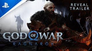 God Of War Ragnarok - PlayStation Showcase 2021 Reveal Trailer PS5 MD quality image