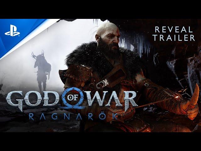 God Of War Ragnarok - PlayStation Showcase 2021 Reveal Trailer PS5 HQ quality image