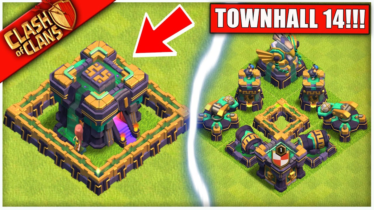 OMG... TH14 IS HERE! Clash of Clans THE NEW COC UPDATE WE'VE ALL BEEN WAITING FOR HD quality image