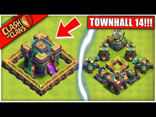 OMG... TH14 IS HERE! Clash of Clans THE NEW COC UPDATE WE'VE ALL BEEN WAITING FOR HQ quality image