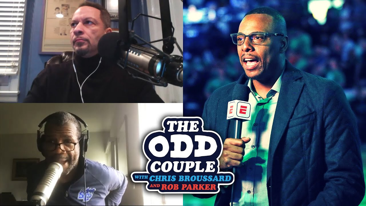 Chris Broussard & Rob Parker - ESPN Fires Paul Pierce Days After Controversial Instagram Live HD quality image