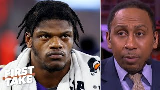 Stephen A. doesnt hold back on criticizing Lamar Jackson First Take MD quality image