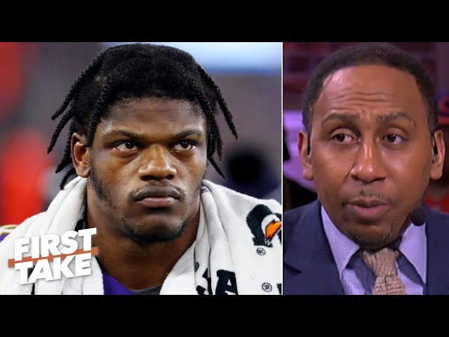 Stephen A. doesnt hold back on criticizing Lamar Jackson First Take HQ quality image