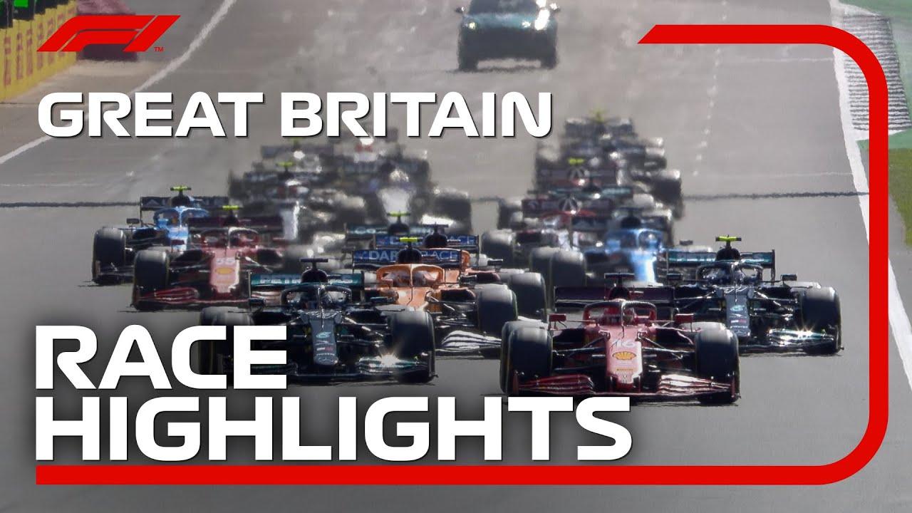 Race Highlights 2021 British Grand Prix HD quality image