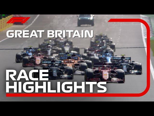 Race Highlights 2021 British Grand Prix HQ quality image