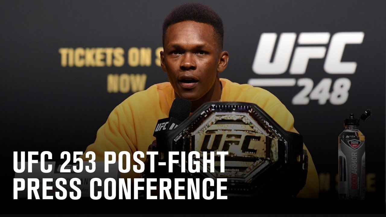 UFC 253: Post-fight Press Conference HD quality image