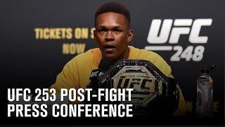 UFC 253: Post-fight Press Conference MD quality image