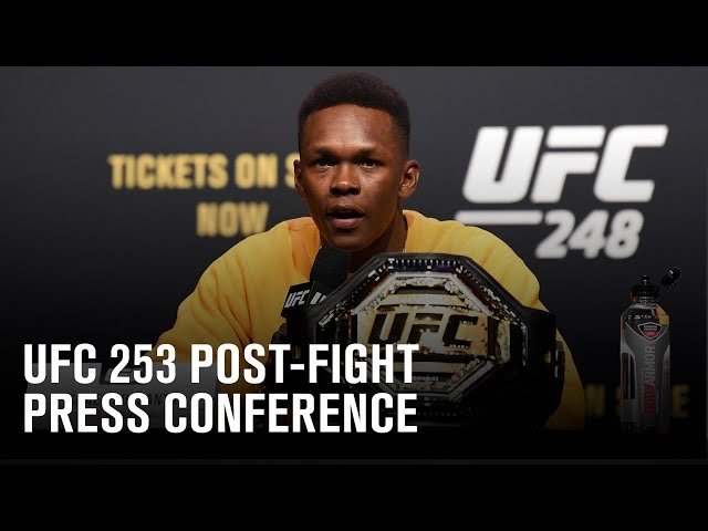 UFC 253: Post-fight Press Conference HQ quality image