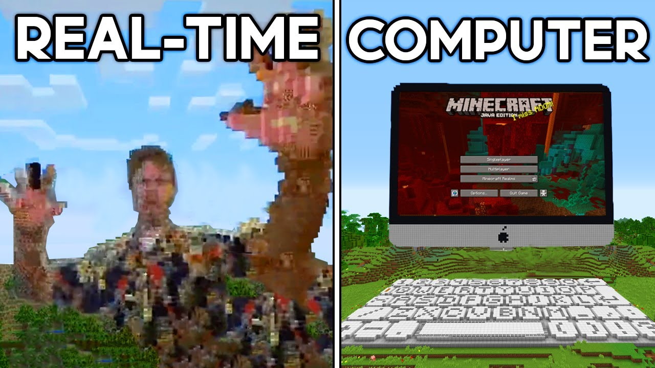 Minecraft's Most Mind-Blowing Inventions... HD quality image