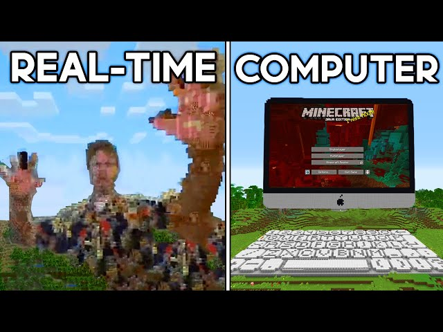 Minecraft's Most Mind-Blowing Inventions... HQ quality image