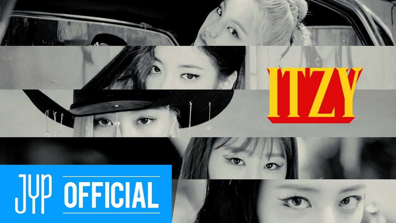 ITZY Not Shy Opening Trailer HD quality image