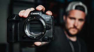 Hands ON with the NEW CANON EOS R5! THE GRAIL CAMERA! Screenshot