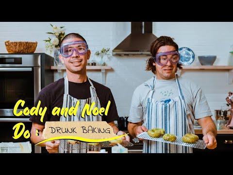 Cody and Noel Do: Drunk Baking MQ quality image