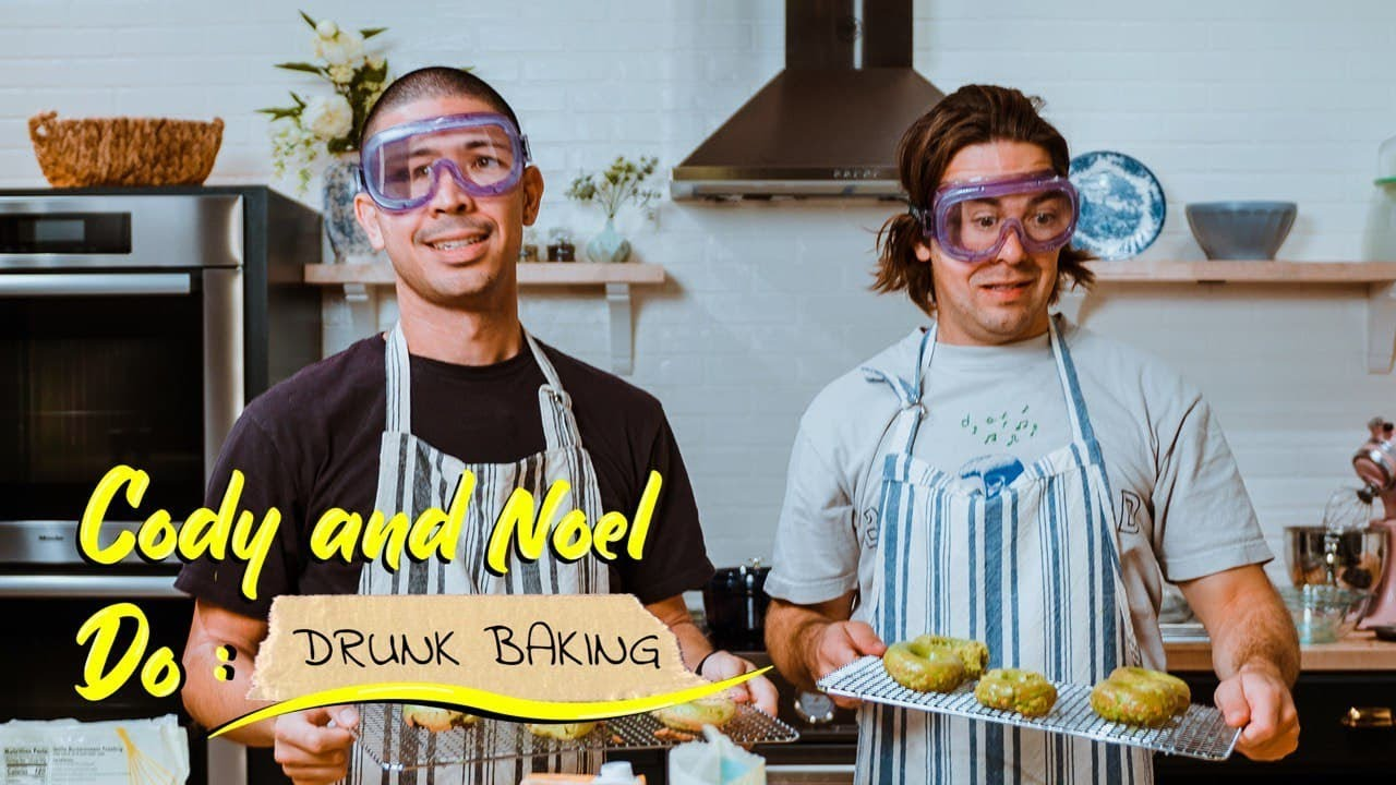 Cody and Noel Do: Drunk Baking HD quality image