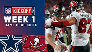 Dallas Cowboys vs. Tampa Bay Buccaneers Week 1 2021 Game Highlights MD quality image