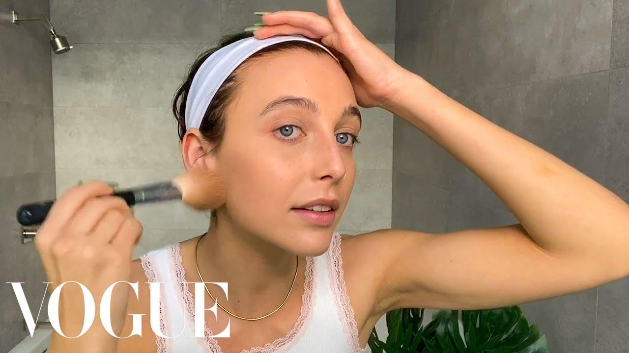 Emma Chamberlain on Her Acne Journey, and Guide to TikTok Makeup Beauty Secrets Vogue HD quality image