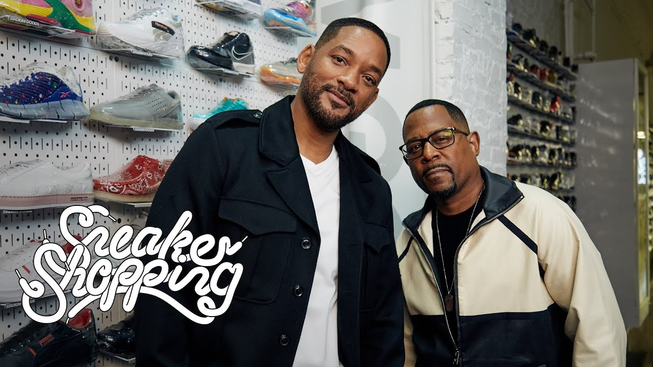 Will Smith And Martin Lawrence Go Sneaker Shopping With Complex HD quality image
