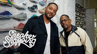Will Smith And Martin Lawrence Go Sneaker Shopping With Complex MD quality image