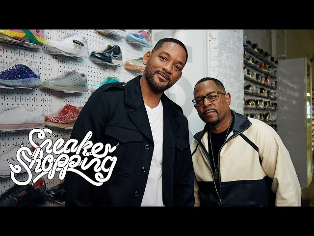 Will Smith And Martin Lawrence Go Sneaker Shopping With Complex HQ quality image