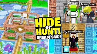 Minecraft Hide or Hunt, But on the Dream SMP Screenshot