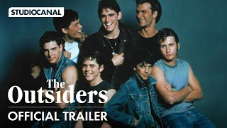 The Outsiders - Official Trailer 4K   Patrick Swayze, Tom Cruise, Matt Dillion, & Ralph Macchio