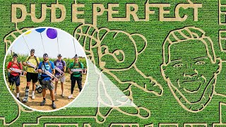Dude Perfect Corn Maze | Nerf Battle Screenshot