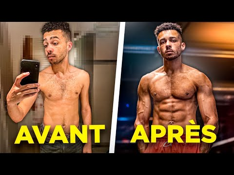 MA TRANSFORMATION PHYSIQUE INCROYABLE MQ quality image