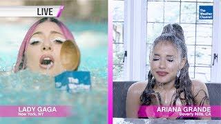 Lady Gaga & Ariana Grande - A Downpour In Chromatica Screenshot
