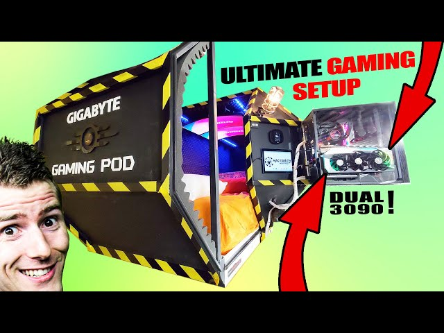 We made the ULTIMATE GAMING POD! HQ quality image