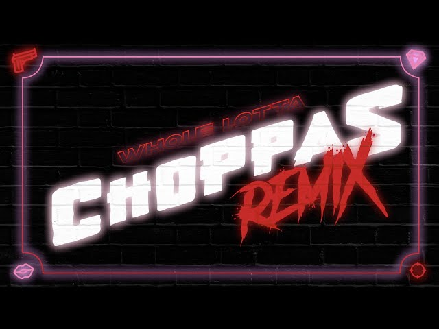 Sada Baby - Whole Lotta Choppas [Remix] ft. Nicki Minaj (Lyric Video) HQ quality image