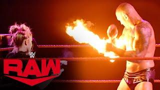 Alexa Bliss hits Randy Orton with a fireball: Raw, Jan. 11, 2021 MD quality image