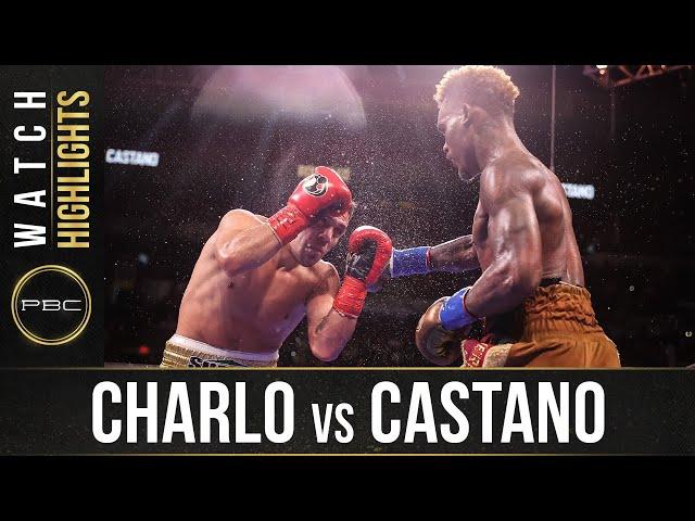 Charlo vs Castano HIGHLIGHTS: July 17, 2021 PBC on SHOWTIME HQ quality image