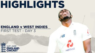 Day 3 Highlights | Windies On Top But Stokes Leads Fightback! | England v West Indies 1st Test 2020 Screenshot