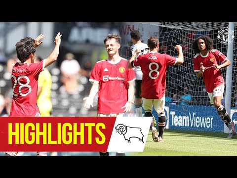 Chong & Pellistri give Reds victory at Derby Highlights Derby County 1-2 Manchester United MQ quality image