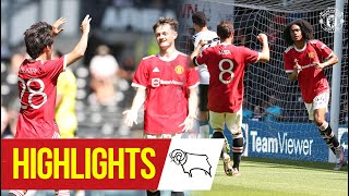 Chong & Pellistri give Reds victory at Derby Highlights Derby County 1-2 Manchester United MD quality image
