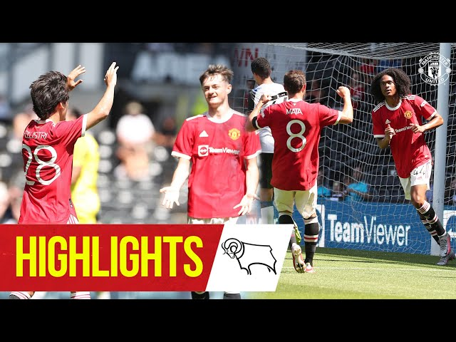 Chong & Pellistri give Reds victory at Derby Highlights Derby County 1-2 Manchester United HQ quality image